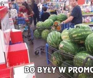 Ktoś bardzo lubi arbuzy