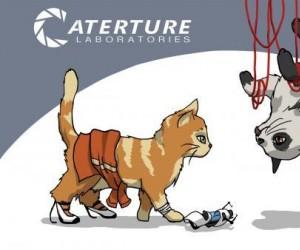 Gdyby bohaterowie Portala byli kotami