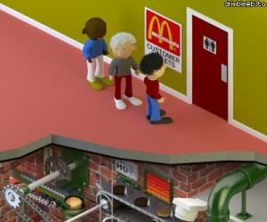 Tymczasem w toalecie McDonald's