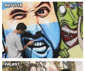 Artysta vs palant