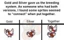 Rozmnażanie pokemonów w Gold i Silver