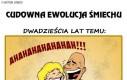 Nawet śmiech się zmienia