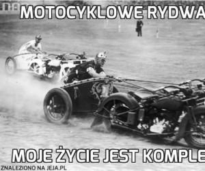 Motocyklowe rydwany