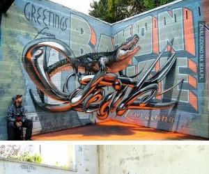 Graffiti w 3D