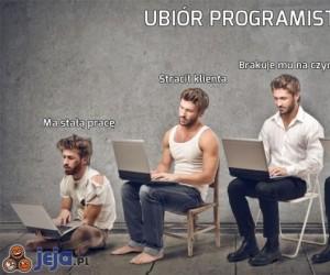 Po ubiorze rozpoznasz programistę