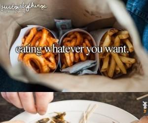 Gdy możesz jeść cokolwiek zachcesz
