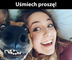 Szeroki uśmiech!