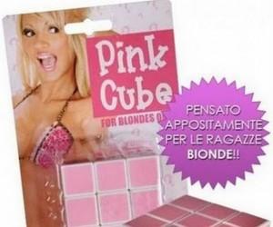 Kostka Rubika dla blondynek