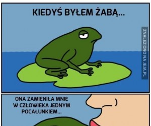 Kiedyś byłem żabą...