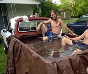 Pierwszy, objazdowy basen