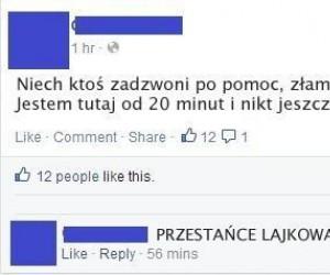 Cholerny Facebook