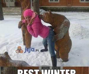 Najlepsza zima miśka