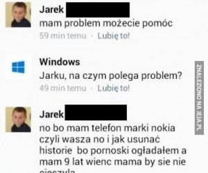 Problemy użytkowników Windowsa