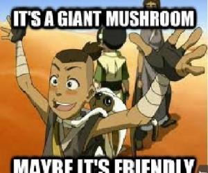 Gigantyczny grzyb!