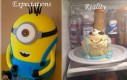 Ciasto - oczekiwania vs. rzeczywistość