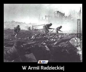 W Armii Radzieckiej