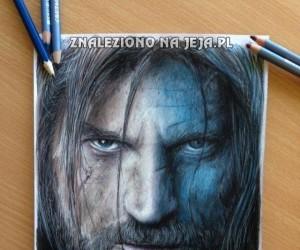 """Realistyczny rysunek z """"Gry o tron"""""""