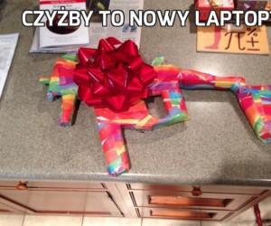 Czyżby to nowy laptop?