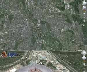 Google Earth trolluje - Stadion Narodowy 3D