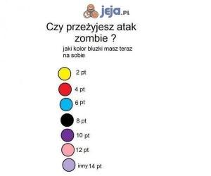 Czym będziesz walczył podczas apokalipsy zombie?