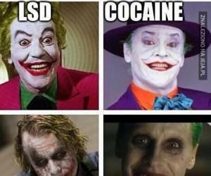 5 typów Jokera...