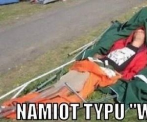 "Namiot typu ""Woodstock"""