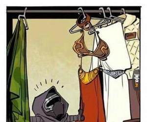 Garderoba w domu państwa Solo
