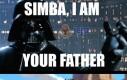 Simba! Jestem twoim ojcem!