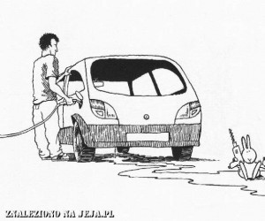 Samobójstwa zajączka: Zajączek i benzyna