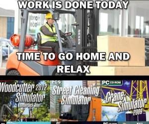 Po pracy odpoczynek przy ulubionej grze!