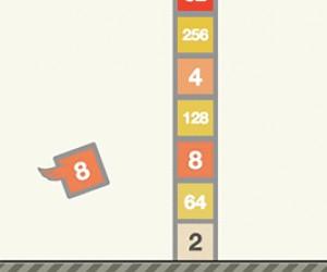 Połączenie gry Flappy Bird i 2048. Gra na jeja, link w opisie