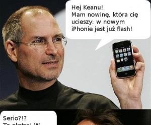 Flash w nowym iPhonie