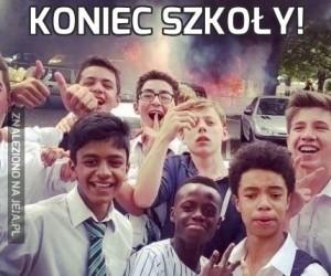 Koniec szkoły!