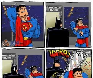 Gdy Supermana swędzą plecy
