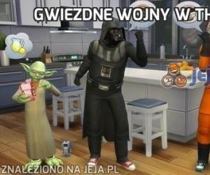 Gwiezdne wojny w The Sims 4