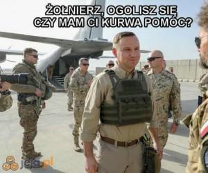 Duda osobiście naprawia polską armię