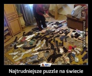 Najtrudniejsze puzzle na świecie