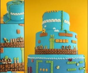 Ciasto dla fana Mario