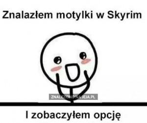 Motylki w Skyrim