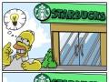 Troll Homer atakuje