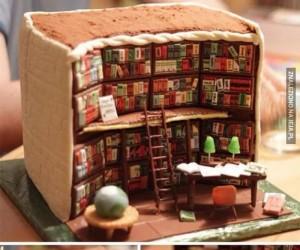Ciasto dla miłośnika książek