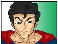 Student bije Supermana