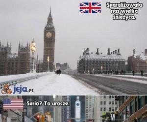 Jak świat przeżywa opady śniegu