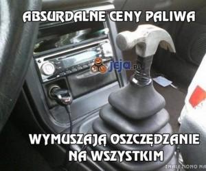 Absurdalne ceny paliwa