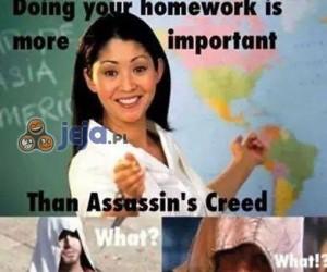 Lekcje ważniejsze?