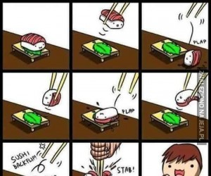 Śmierć Pana Sushi