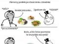 Pierwszy posiłek po stworzeniu człowieka