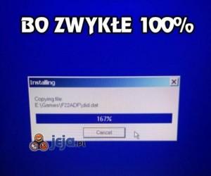 100% jest nudne