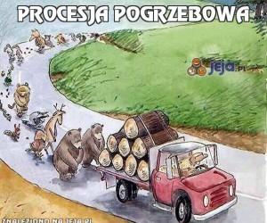 Procesja pogrzebowa