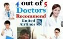 Tylko 1 na 5 lekarzy nie poleca United Airlines!